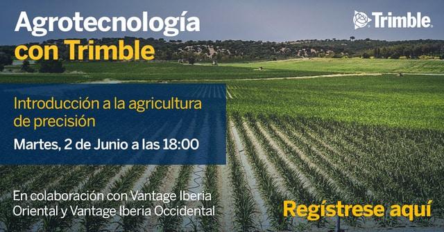 Trimble organiza un webinar de introducción a la agricultura de precisión