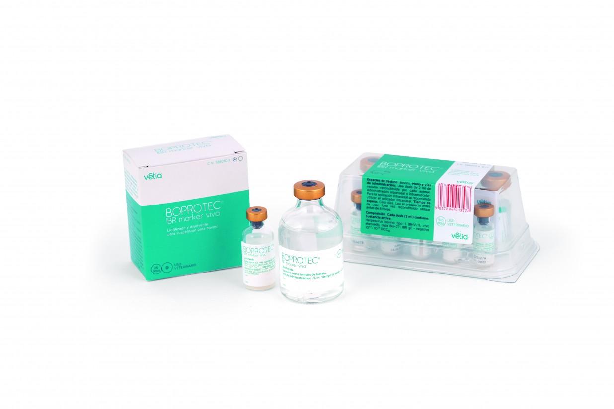 Boprotec IBR Marker Viva, la nueva vacuna de Vetia