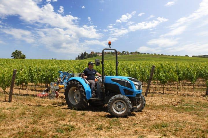 Nueva serie de tractores Landini Rex3 F, ahora Fase V