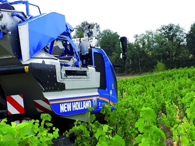 New Holland lanza el nuevo despalillador Combi-Grape para la vendimiadora Braud 8030L