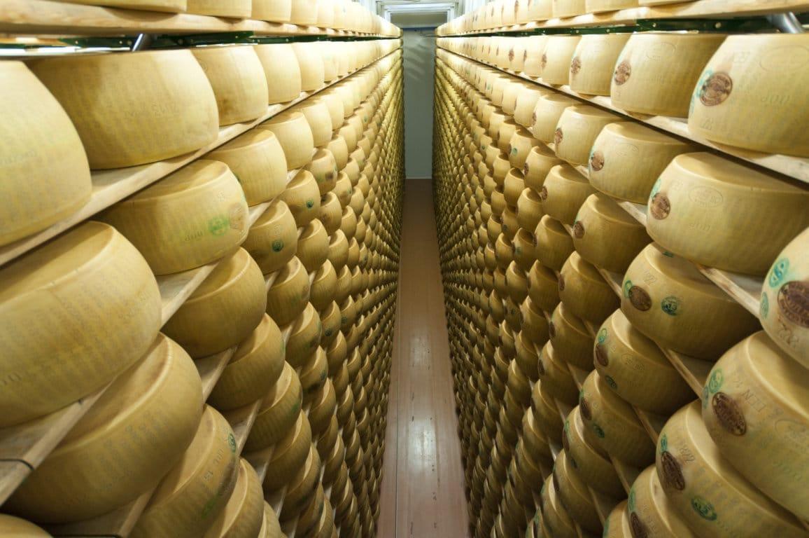 La DOP Parmigiano Reggiano consiguió un récord de producción y exportaciones en 2019