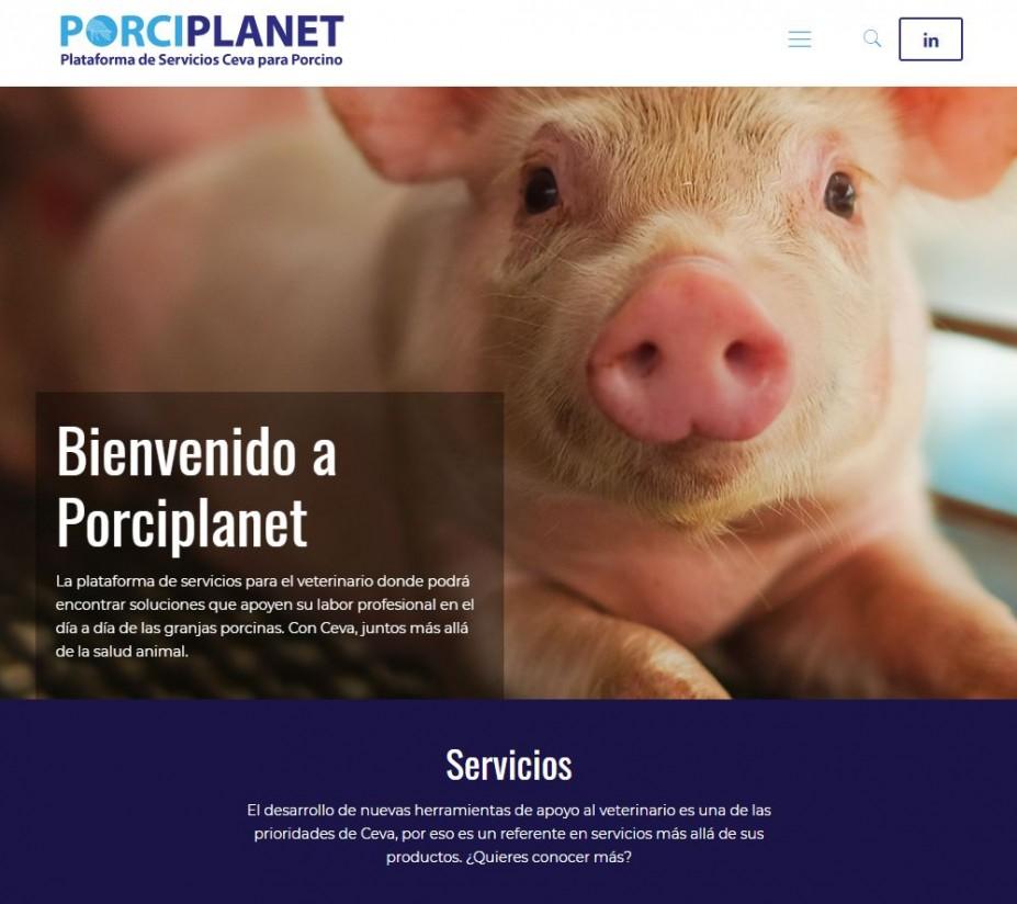 Ceva Salud Animal lanza la web Porciplanet
