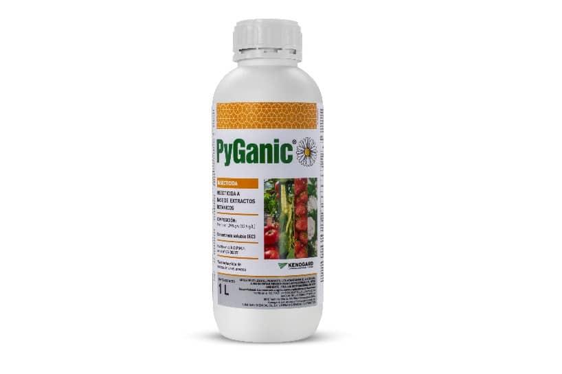 PyGanic, el nuevo insecticida natural de Kenogard para pulgón y mosca blanca