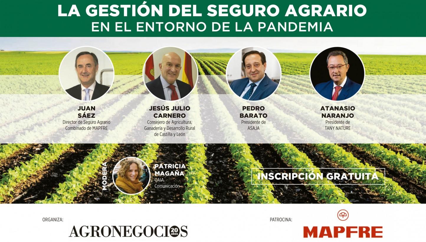 Webinar AgroNegocios: «La gestión del Seguro Agrario en el entorno de la pandemia del Covid-19»
