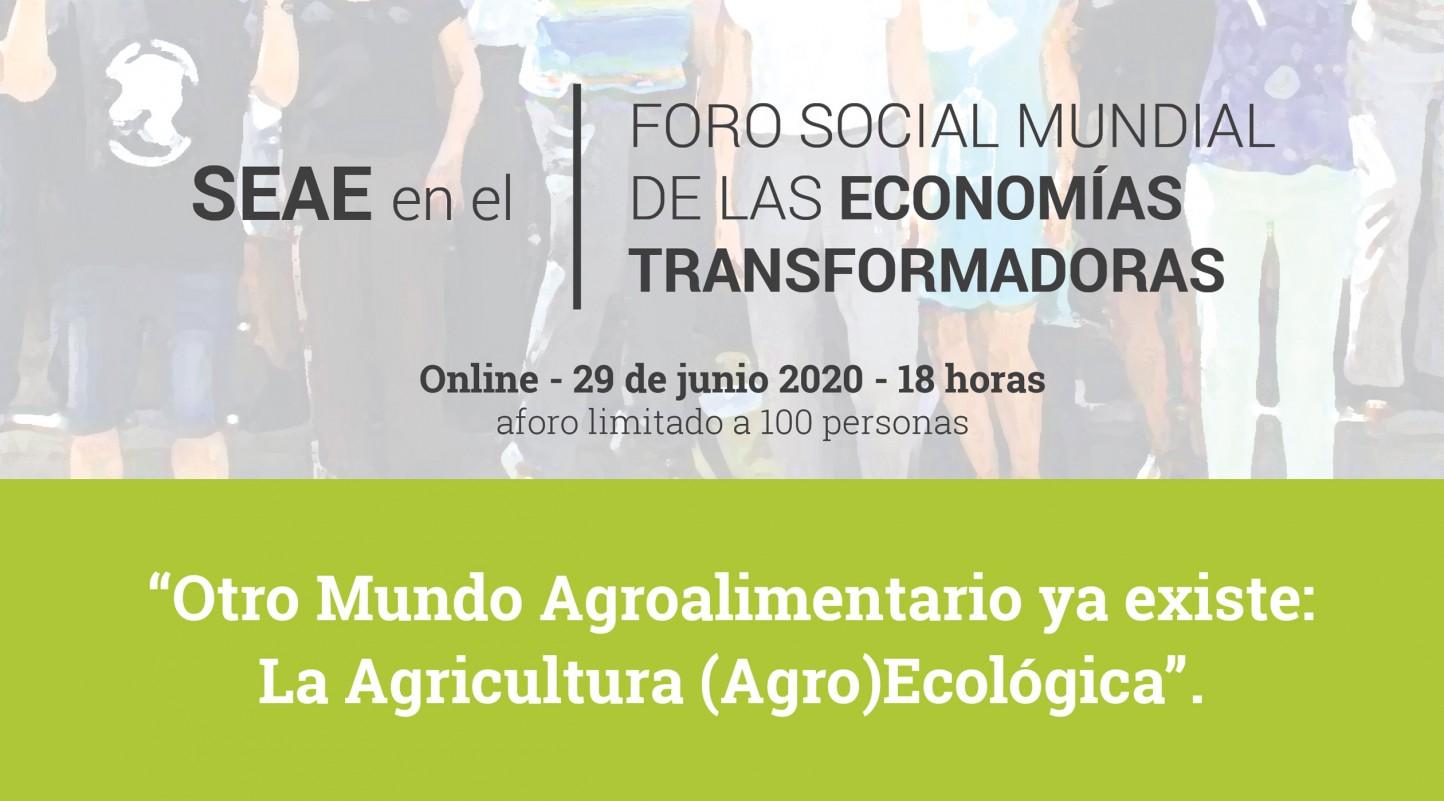 SEAE organiza un debate online sobre agroecología, comercio justo y soberanía alimentaria