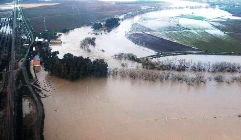 Un juez sentencia a la Junta andaluza a indemnizar a otro agricultor por la riada de 2010