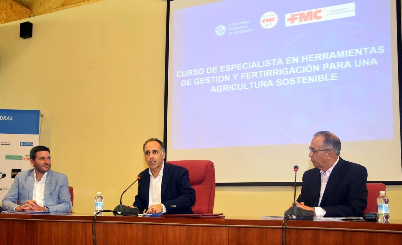FMC renueva su cátedra con la Universidad Politécnica de Cartagena