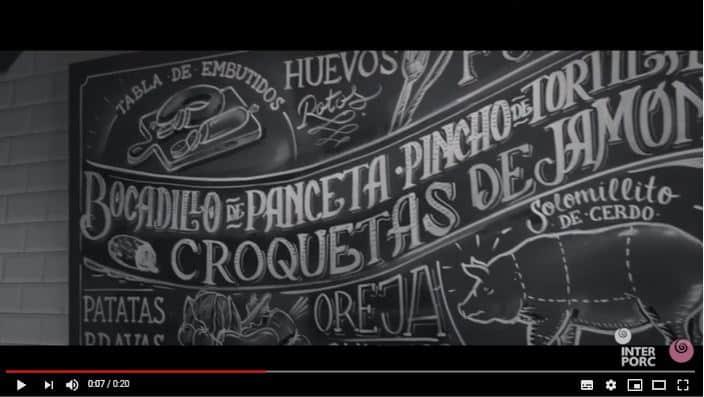 Interporc lanza un vídeo promocional para apoyar al canal Horeca