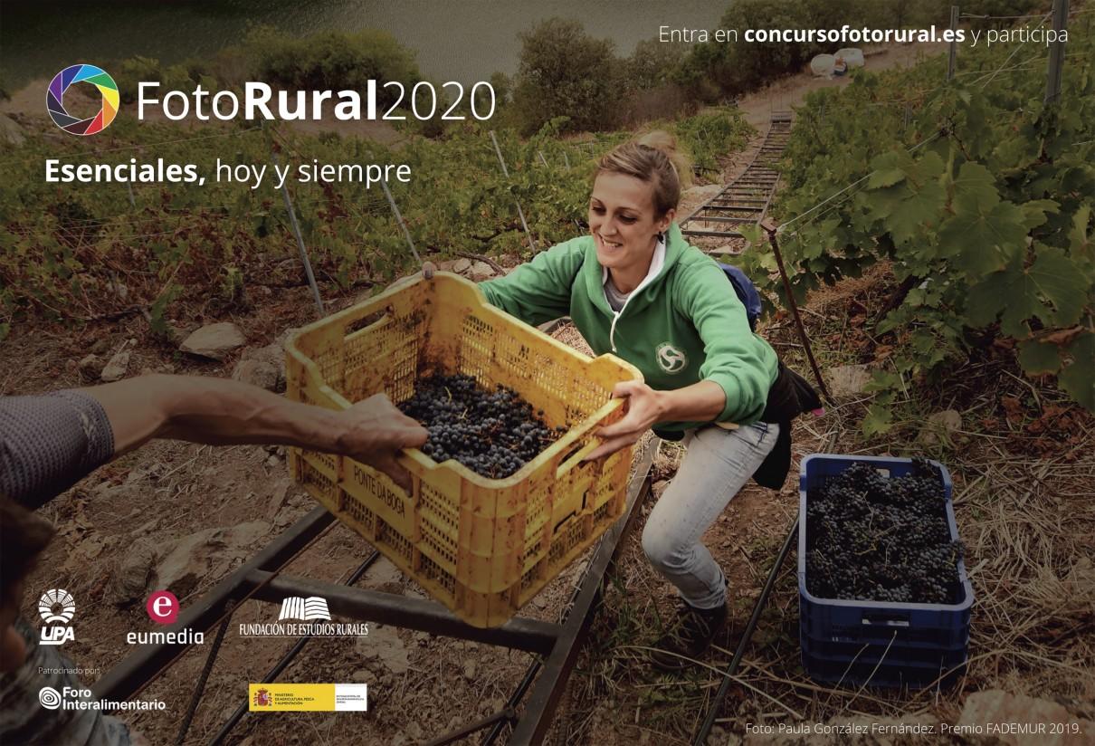 El Concurso de Fotografía del Mundo Rural alcanza este año su XIV edición con importantes premios