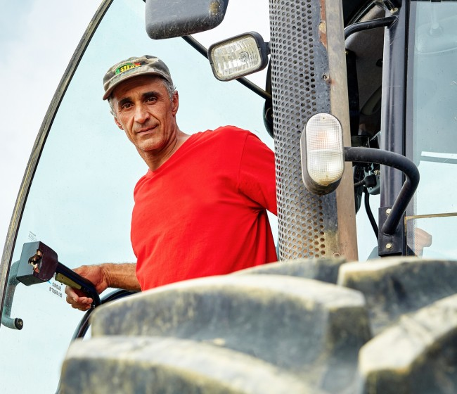 Azienda Agricola Gabaldo Luca apuesta por los neumáticos BKT para equipar sus tractores