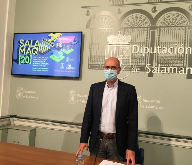 La Diputación de Salamaca suspende la actividad presencial de Salamaq 2020