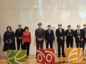 Los empresarios Juan V. Gancedo y David Corral, premios honoríficos Galicia Alimentación 2020
