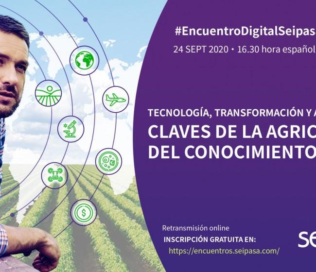 Seipasa organiza un encuentro digital para analizar las claves de la transformación en la agricultura