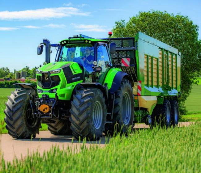 Deutz-Fahr lanza el nuevo 8280 TTV
