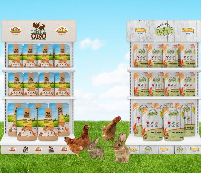 De Heus renueva la imagen de sus productos para avicultura y cunicultura