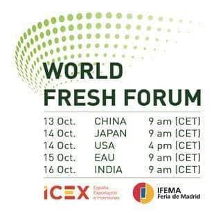 Fruit Attraction LIVEConnect acogerá el World Fresh Forum