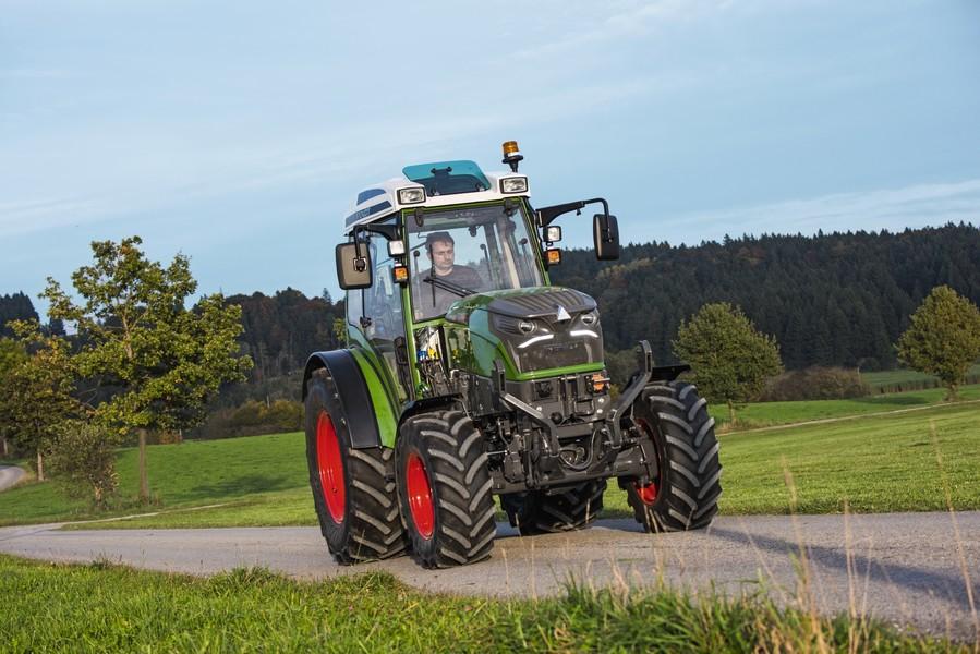 Fendt continúa con el desarrollo de su tractor eléctrico Fendt e100 Vario