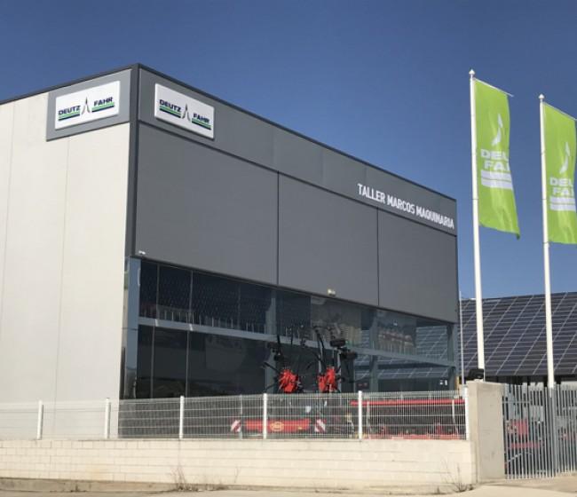Taller Marcos Maquinaria, nuevo concesionario Deutz-Fahr en Palencia