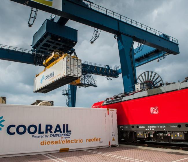 La primera conexión ferroviaria para productos refrigerados amplía su área de cobertura