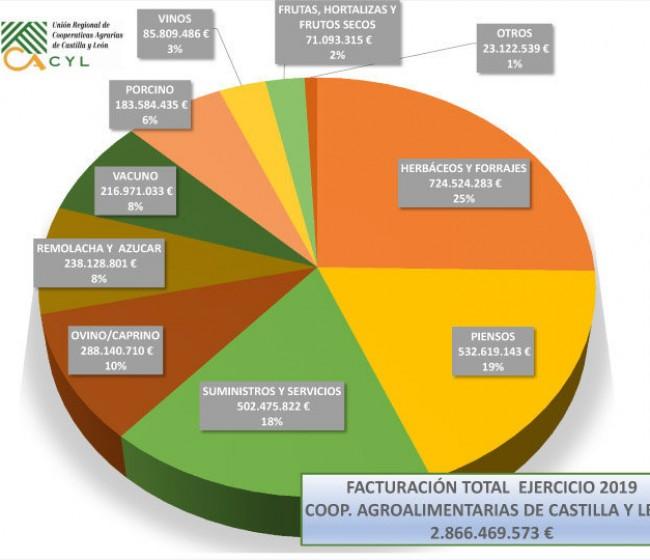 Las cooperativas castellano y leonesas incrementan su facturación un 12%