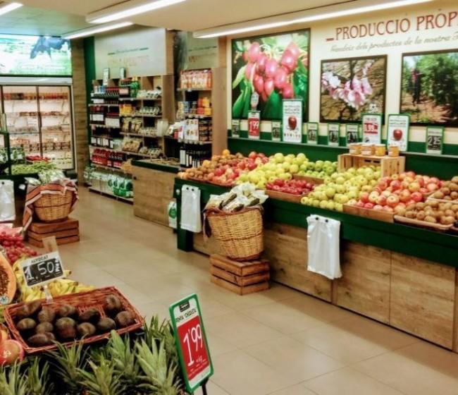 Frutas y hortalizas frescas, los que más subieron en la cesta de la compra de septiembre