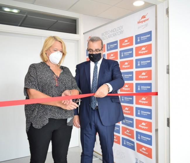 Magapor inaugura un nuevo laboratorio de investigación en Zaragoza