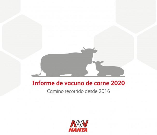 """Nanta publica el informe """"Vacuno de carne: Camino recorrido desde 2016"""""""