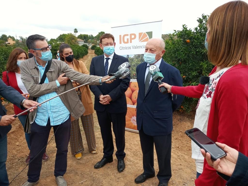 El sector y el Consell impulsan el consumo de los Cítricos Valencianos