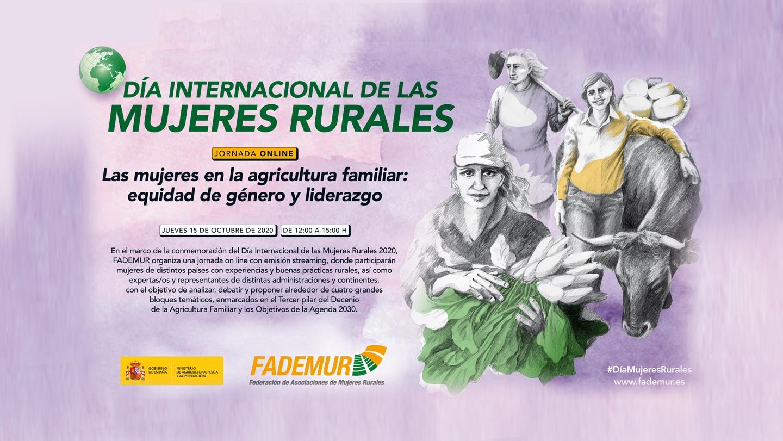 Jornada online de Fademur en el Día Internacional de las Mujeres Rurales