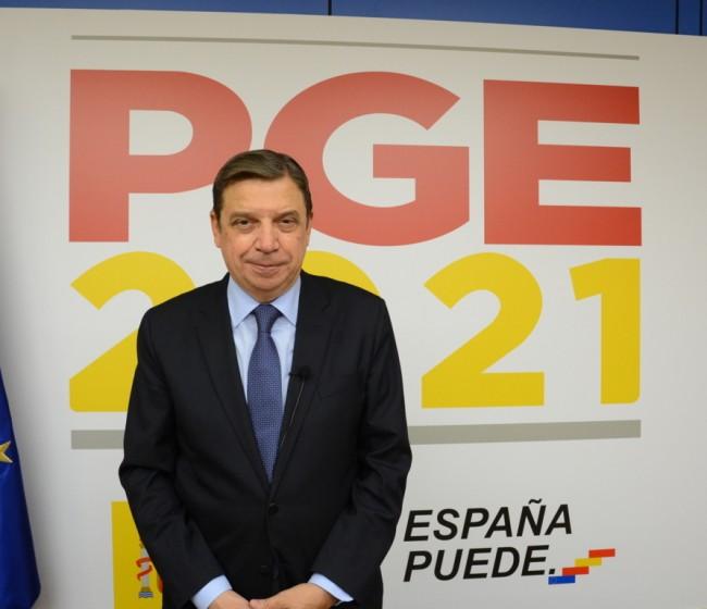 El presupuesto consolidado del MAPA asciende a 8.496 M€ para 2021, un 90% procedente de la UE