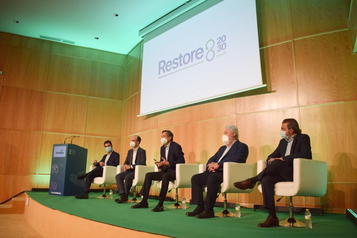 Fertiberia presenta Restore 20/30, un proyecto para la restauración de los apilamientos de fosfoyesos