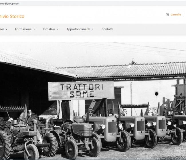 Nueva web del archivo histórico de SDF