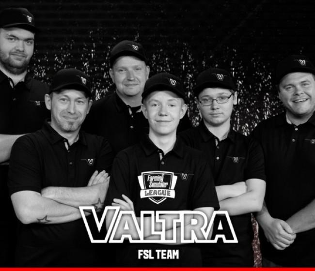 Valtra entra en los e-sports con un equipo propio en la liga de Farming Simulator