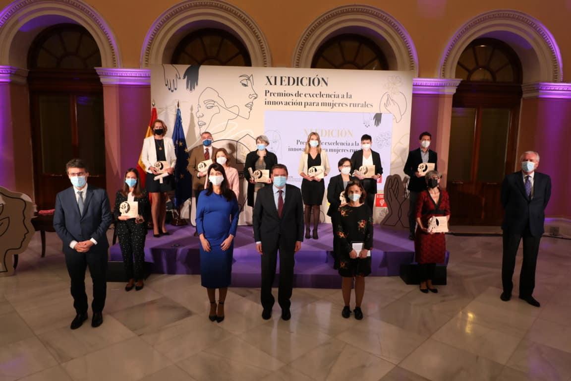 XI edición de los Premios de Excelencia a la Innovación para Mujeres Rurales: «Donde hay mujer, hay futuro»