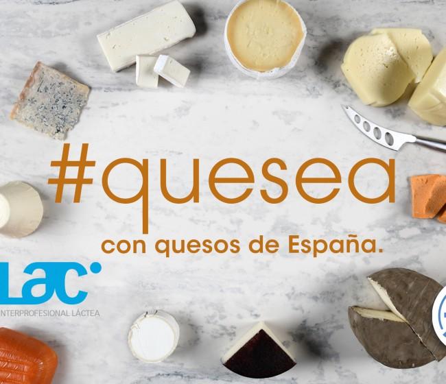 Quesea, la nueva campaña de Inlac para poner en valor los quesos españoles