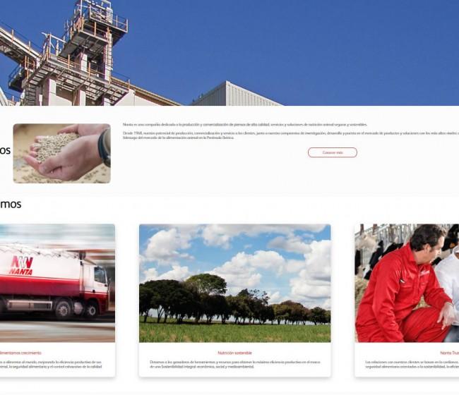 Nanta lanza su nueva web corporativa