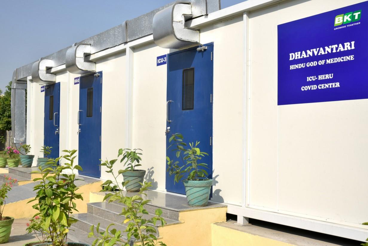 BKT abre un centro de tratamiento del Covid-19 en la planta de Bhuj