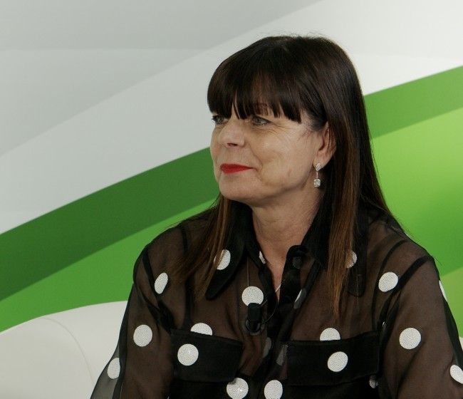 La consejera delegada de BKT Europe, Lucia Salmaso, en BKT Network
