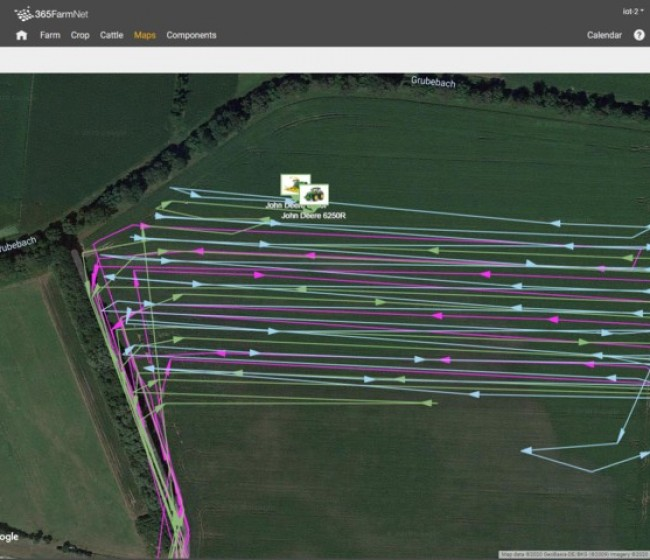 Ya está disponible el intercambio de datos de Claas, 365FarmNet y John Deere a través de DataConnect