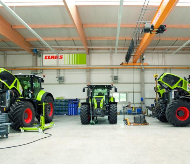 Claas aumenta su participación en E-Farm
