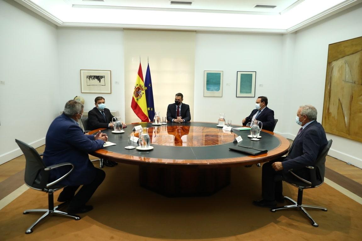 Organizaciones agrarias y Cooperativas trasladan al presidente del Gobierno sus preocupaciones por la nueva PAC