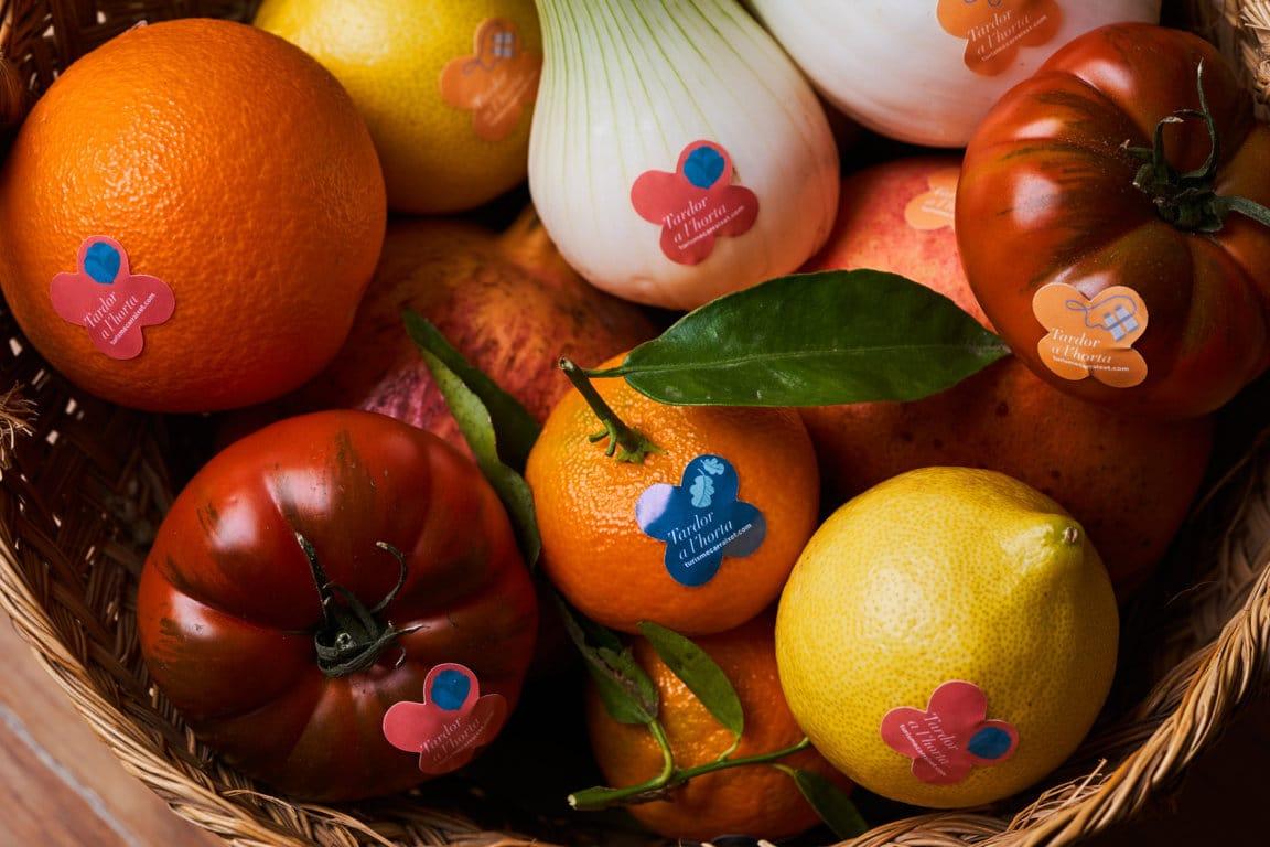 Frutas y hortalizas huerta valenciana destino turismo Carraixet _baja