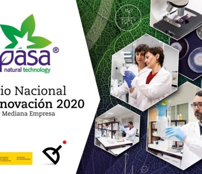 Seipasa gana el Premio Nacional de Innovación 2020