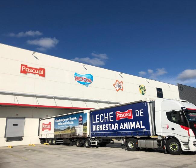 Pascual reduce un 20% de sus emisiones en el transporte