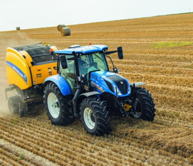New Holland lanza el nuevo T6.160 de 6 cilindros Dynamic Command
