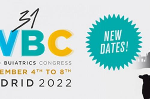Anembe retrasa a 2022 el 31º Congreso Mundial de Buiatría