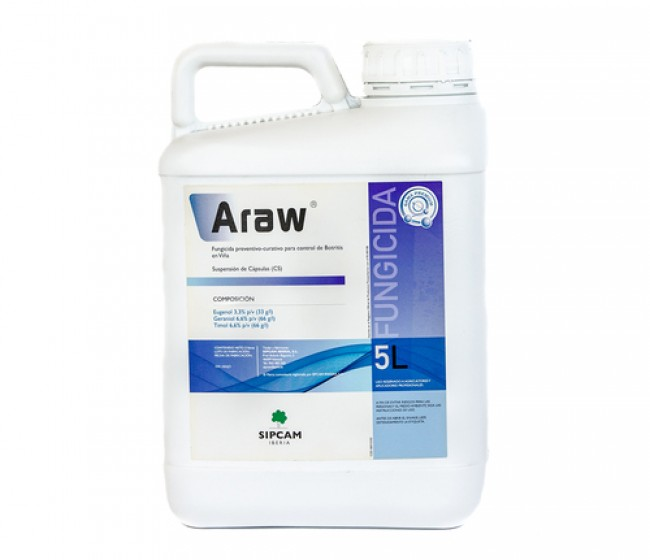 Arraw, el biofungicida de Sipcam Iberia, se consolida en el cultivo de la viña