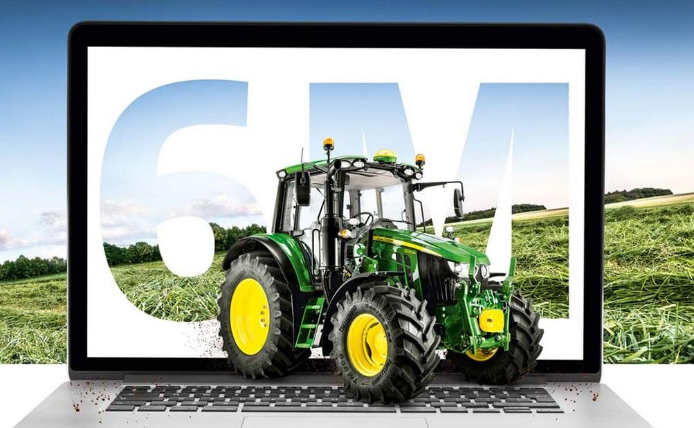 Participa en la presentación de la nueva serie de tractores 6M de John Deere