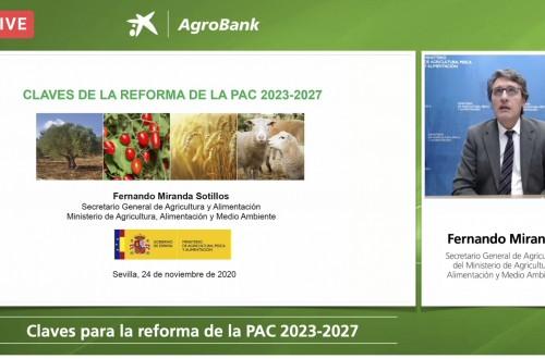Fernando Miranda analiza las claves de la reforma de la PAC en una nueva jornada AgroBank