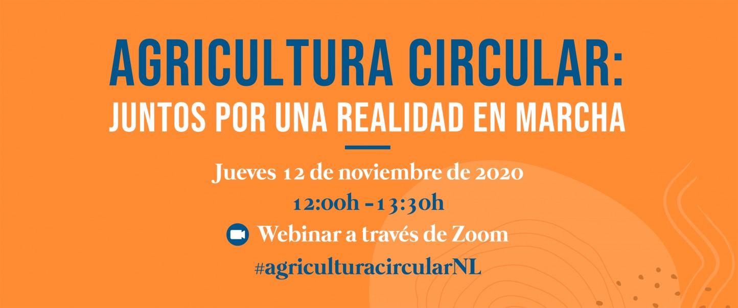 La Embajada de los Países Bajos organiza un webinar sobre agricultura circular